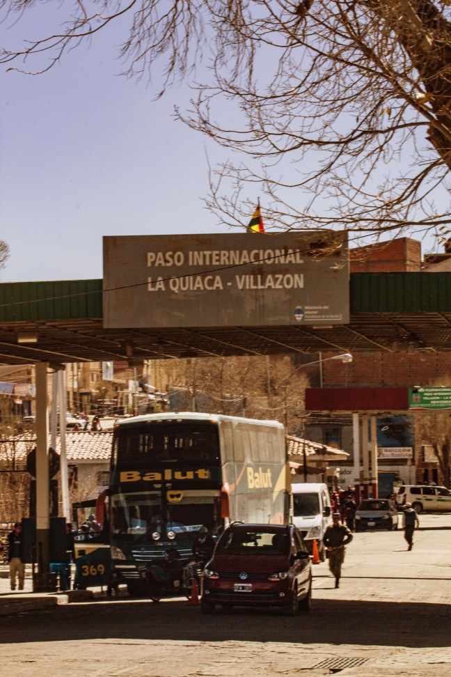 Frontera Argentina/Bolivia La Quiaca, Jujuy, Argentina