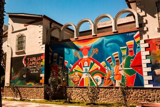 La ciudad capital Tarija, Tarija, Bolivia
