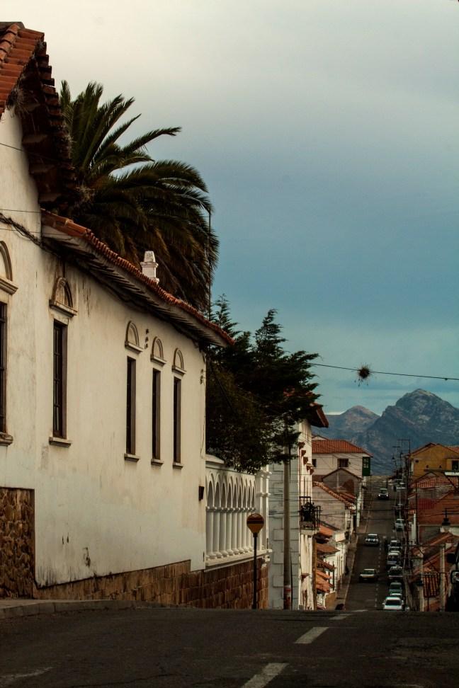 Calles del centro Sucre, Chuquisaca, Bolivia