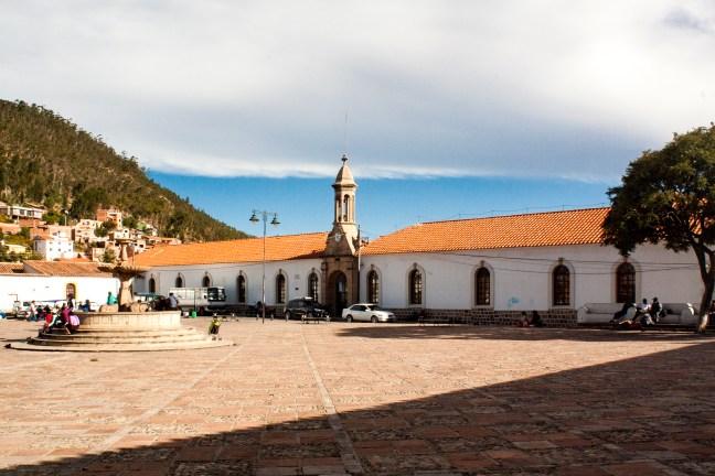 Plaza de La Recoleta Sucre, Chuquisaca, Bolivia