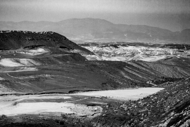 Tierras altas Carretera de Arequipa a Puno, Perú