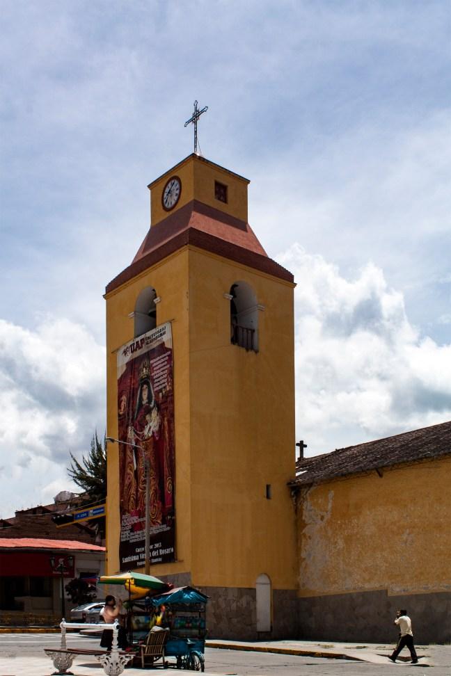La iglesia Andahuaylas, Apurímac, Perú