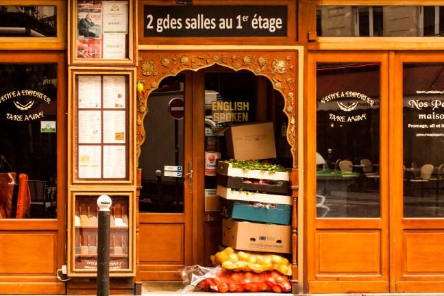 El café Paris. Francia