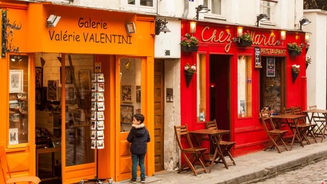 La vitrina París, Francia