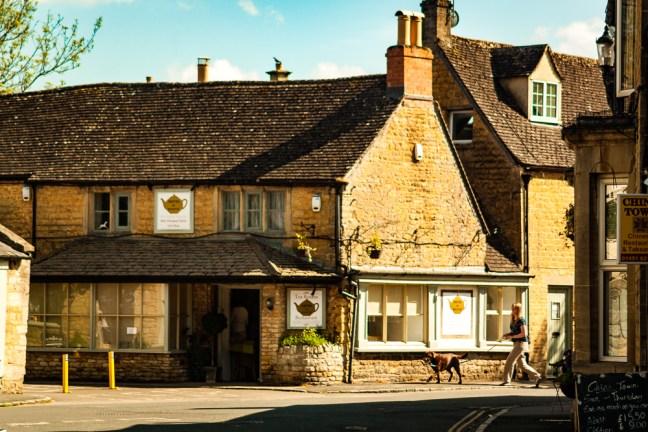 Caminando las calles Stratford-upon-Avon, UK