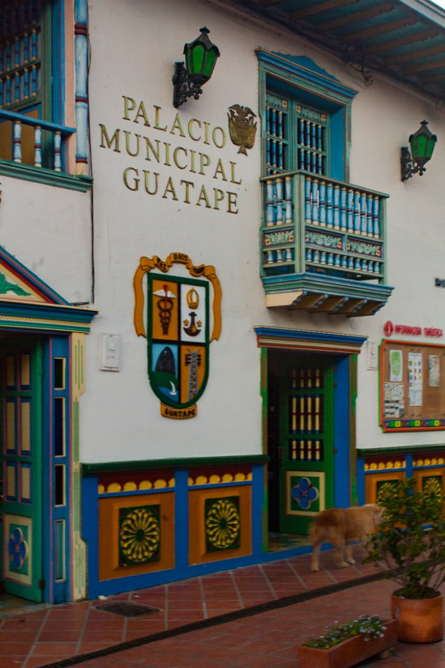 City Hall Guatapé, Antioquia, Colombia