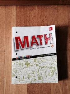 common core math book
