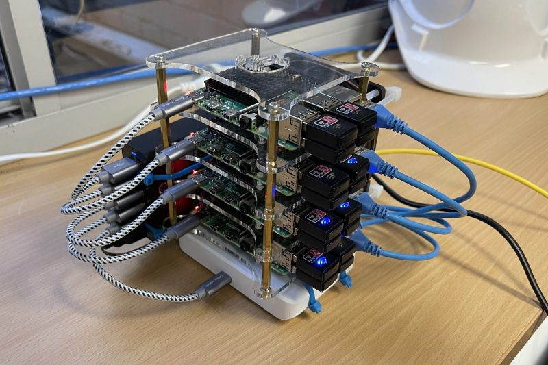 Pi Wifi Testing stack… a first?