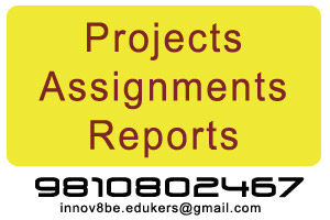 Science Projects - Projects, Assignments and Reports
