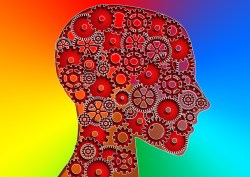 Thinking Head with Gears