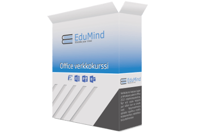 Office verkkokurssi - Excel, Word, Powerpoint, Outlook