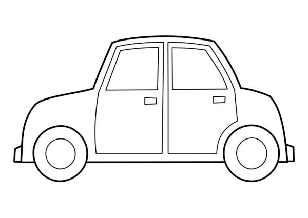 coloring page car # 21