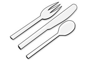 Coloring Page cutlery   free printable coloring pages ...