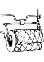 Coloring Page kitchen roll   free printable coloring pages ...