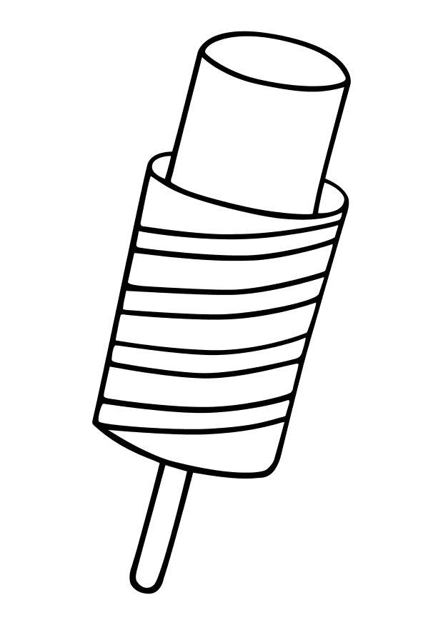 coloring page popsicle  free printable coloring pages