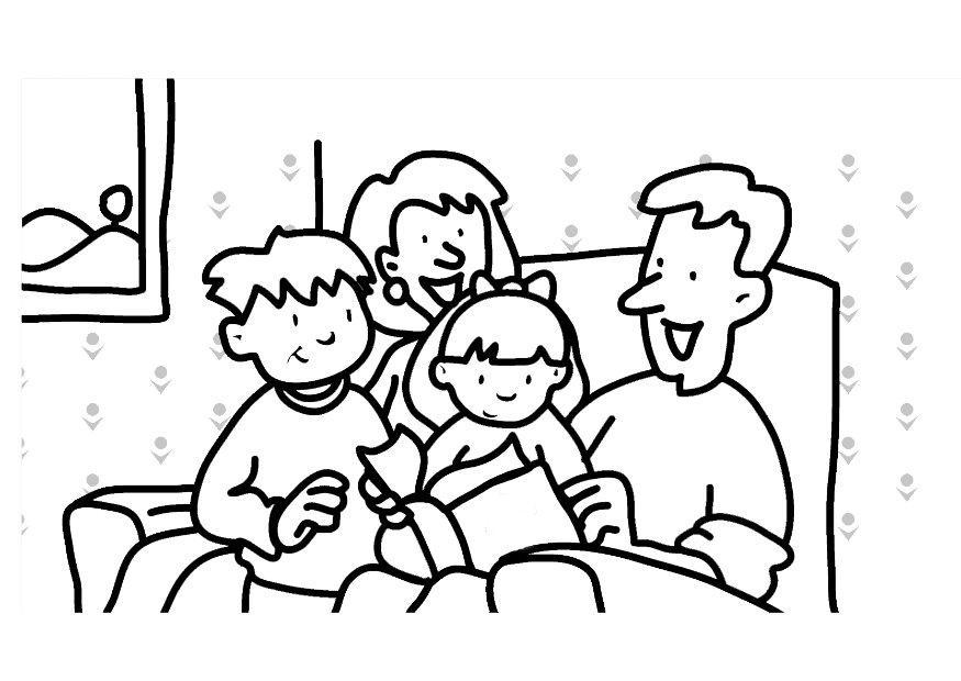 coloring pages children reading | wallpapersskin