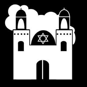 Coloring Page Synagogue Img 14286