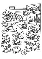 Coloring Page toy store   free printable coloring pages ...