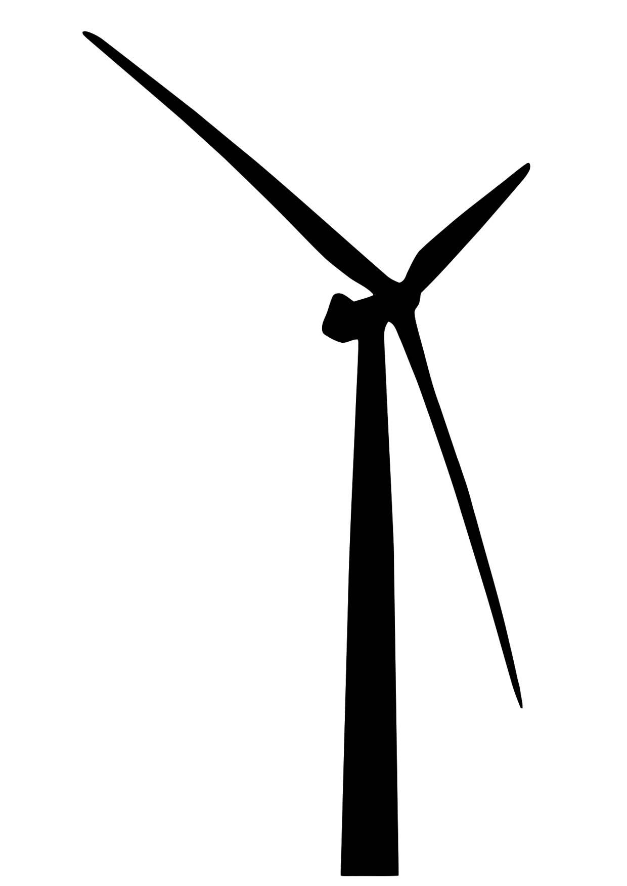 Coloring Page Wind Turbine Img 28433