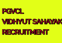 PGVCL Recruitment for Junior Assistant (Vidyut Sahayak) Total Posts 2019-20