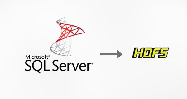 Microsoft SQL Server to HDFS