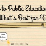 Ode to Public Education: It's What's Best for Kids