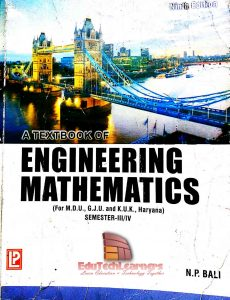 A Textbook of Engineering Mathematics (Semester-III/IV) by N P Bali