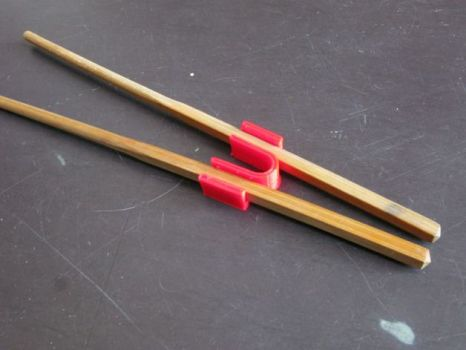 chopstick helper, useful 3D printed things
