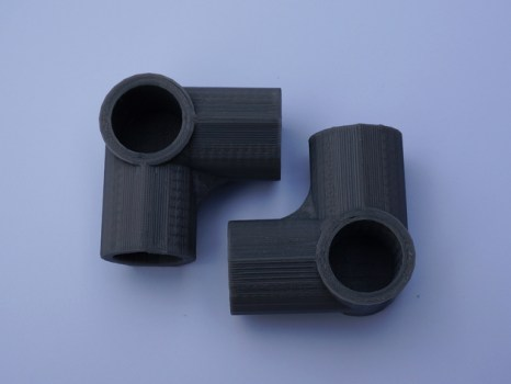 3d printed pipe fitting