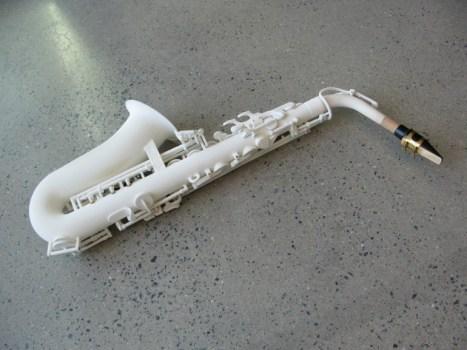 3d printed saxophone