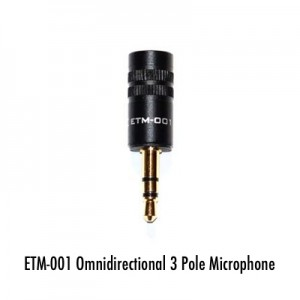 External microphone for GoPro or DSLR