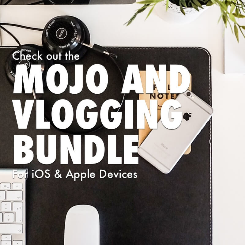 iOS Mobile Journalism or Vlogging Bundle for iPhone