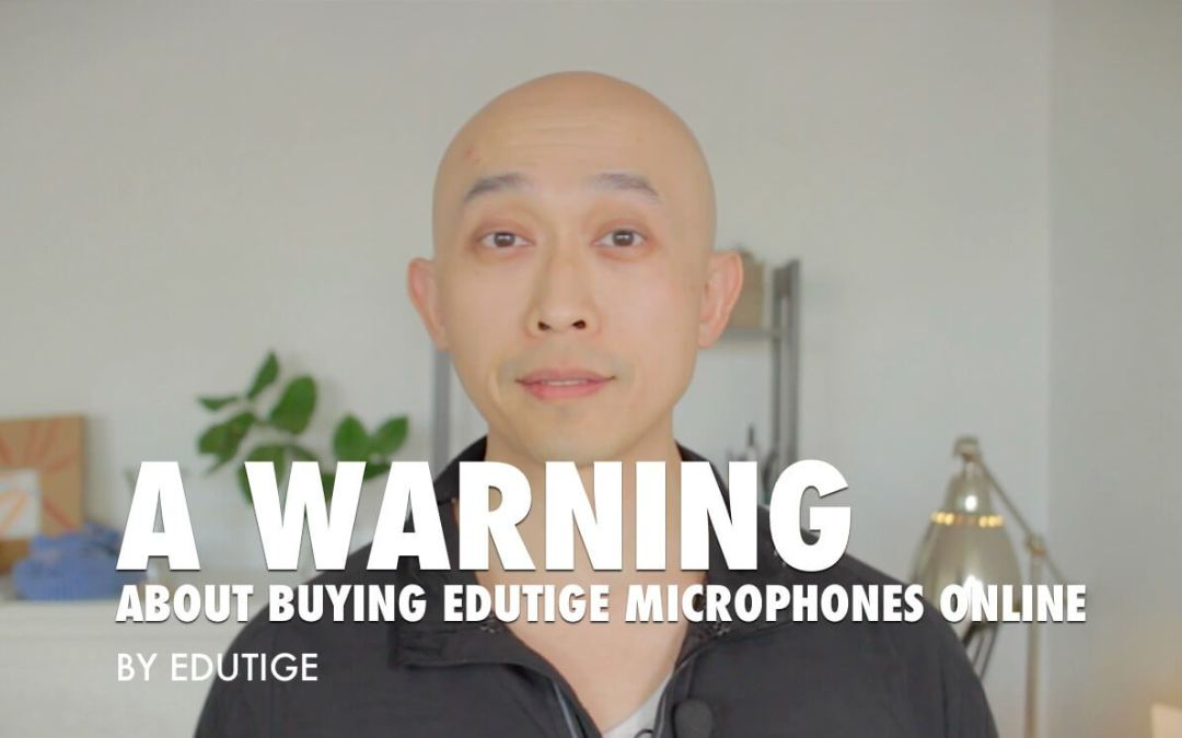 A warning about buying Edutige microphones online [VIDEO]