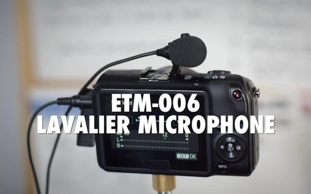 Best Microphone for YouTube – Rode VideoMic Pro vs Edutige ETM 006 Lavalier Microphone