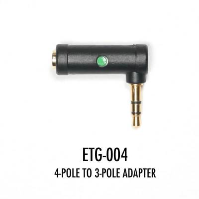 ETG-004 4-POLE TO 3-POLE ADAPTER