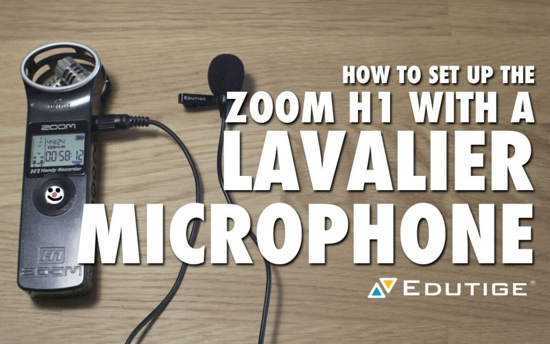 How to Set Up the Zoom H1 with a Lavalier Microphone