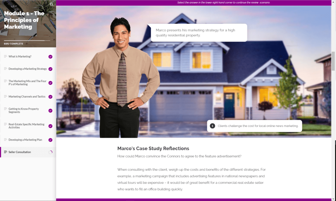 Real Estate eLearning 4