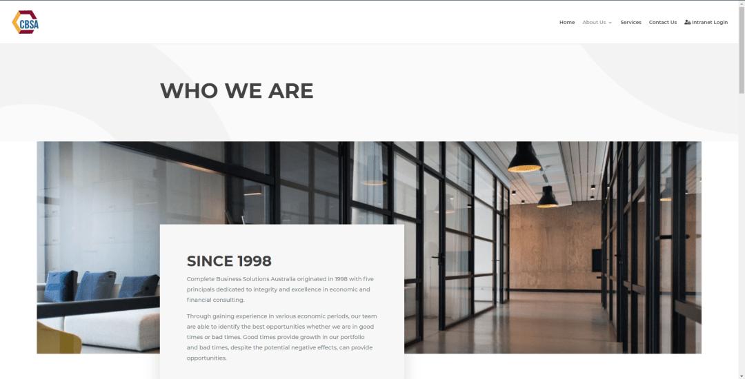 CBSA website About Us