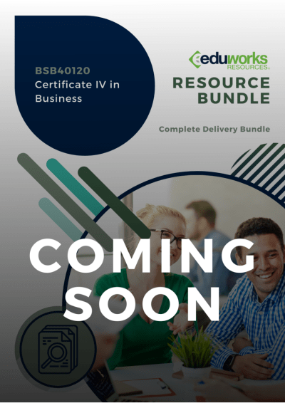 BSB40120 Certificate IV in Business Coming soon