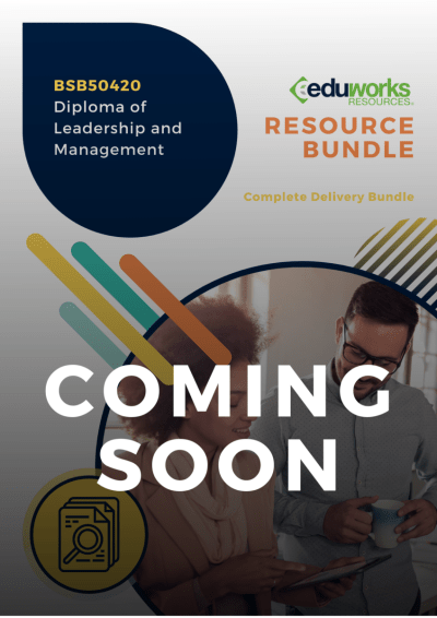 BSB50420 Diploma of Leadership and Management Coming soon