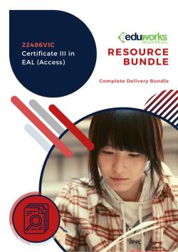 22486VIC Certificate III in EAL (Access)