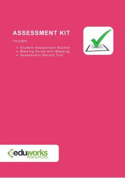 Assessment Kit - BSBMGT516 Facilitate continuous improvement