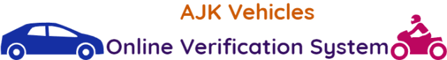 All-AJK-Vehicles-Online-Verification-System