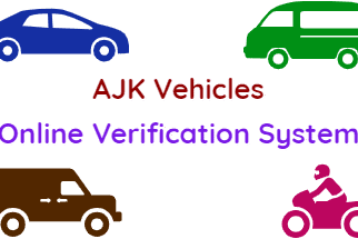 Verify AJK Vehicles Online Verification System