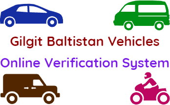 Verify Gilgit Baltistan Vehicles Online Verification System fi