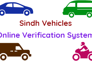 Verify Sindh Vehicles Online Verification System fi