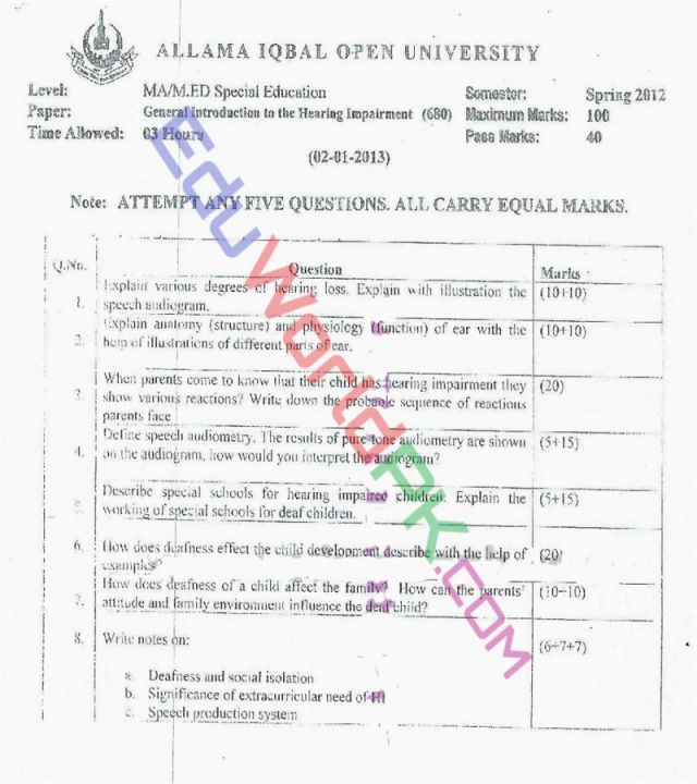 AIOU-MEd-Code-680-Past-Papers-Spring-2012