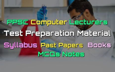 PPSC Computer Lecturers Past Papers - Books - MCQs Notes fi