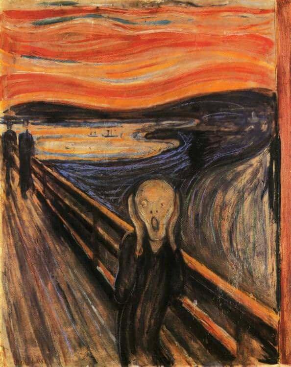 The Scream - Munch ile ilgili görsel sonucu