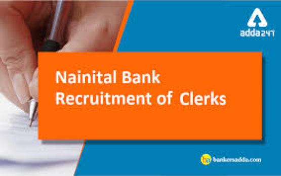 Nainital Bank Clerk Recruitment 2019